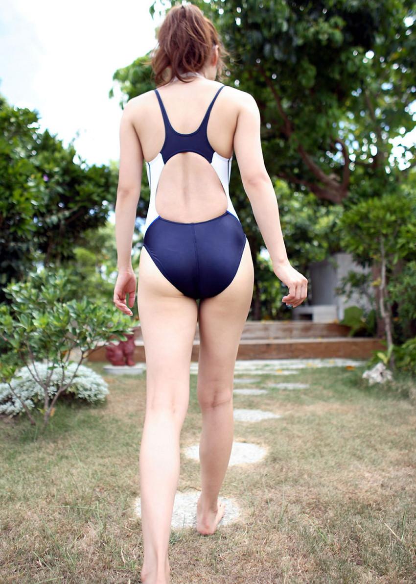 【競泳水着エロ画像】競泳水着と侮るなよ!?競泳水着ってこんなにエロいんだぜ! 44