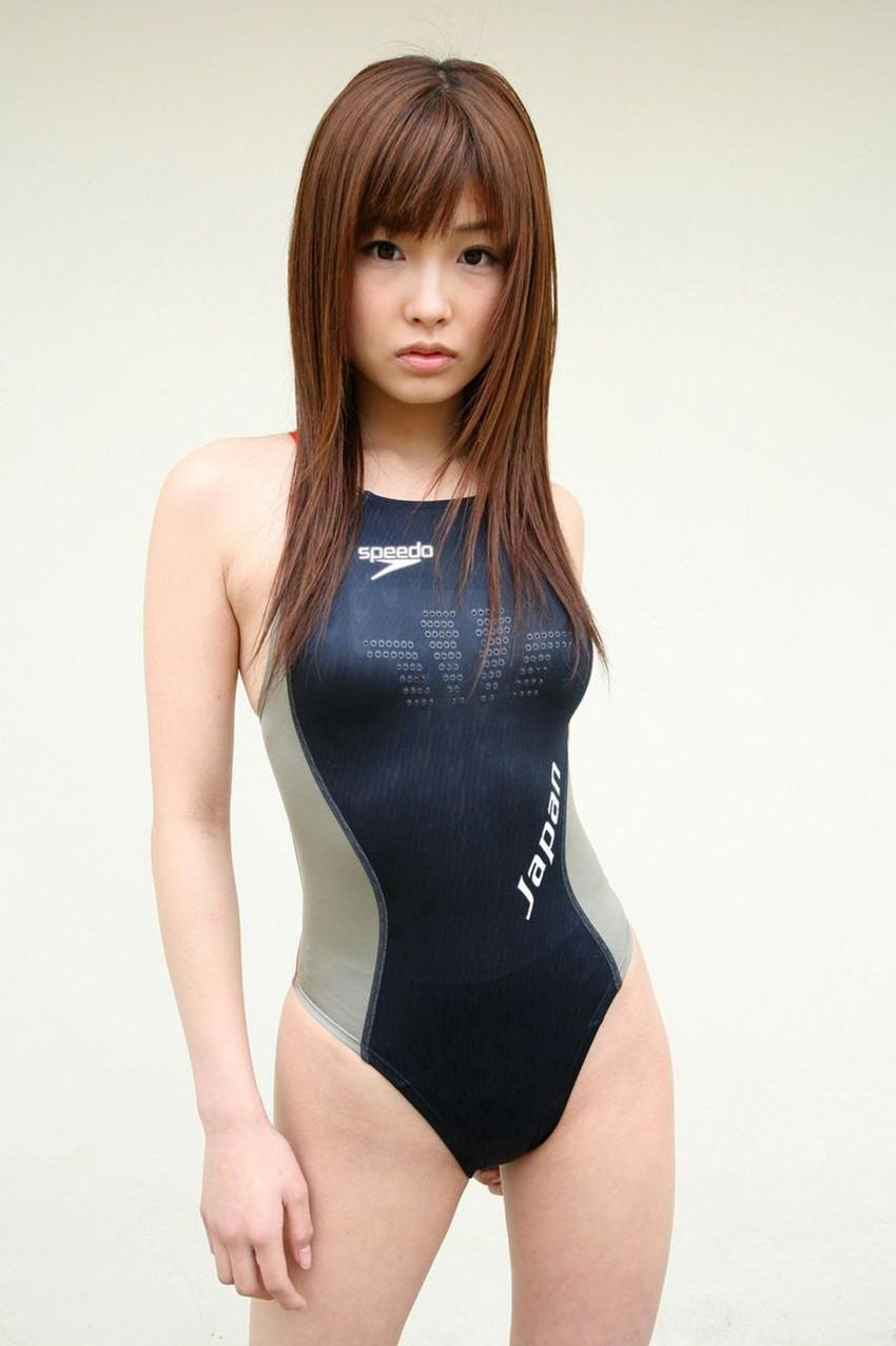 【競泳水着エロ画像】競泳水着と侮るなよ!?競泳水着ってこんなにエロいんだぜ! 56