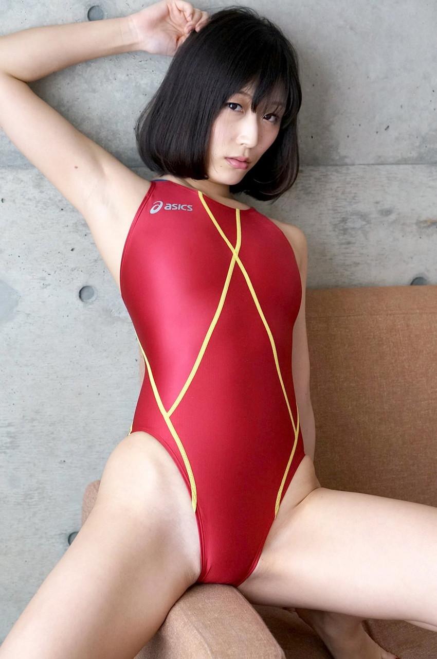 【競泳水着エロ画像】競泳水着と侮るなよ!?競泳水着ってこんなにエロいんだぜ! 66