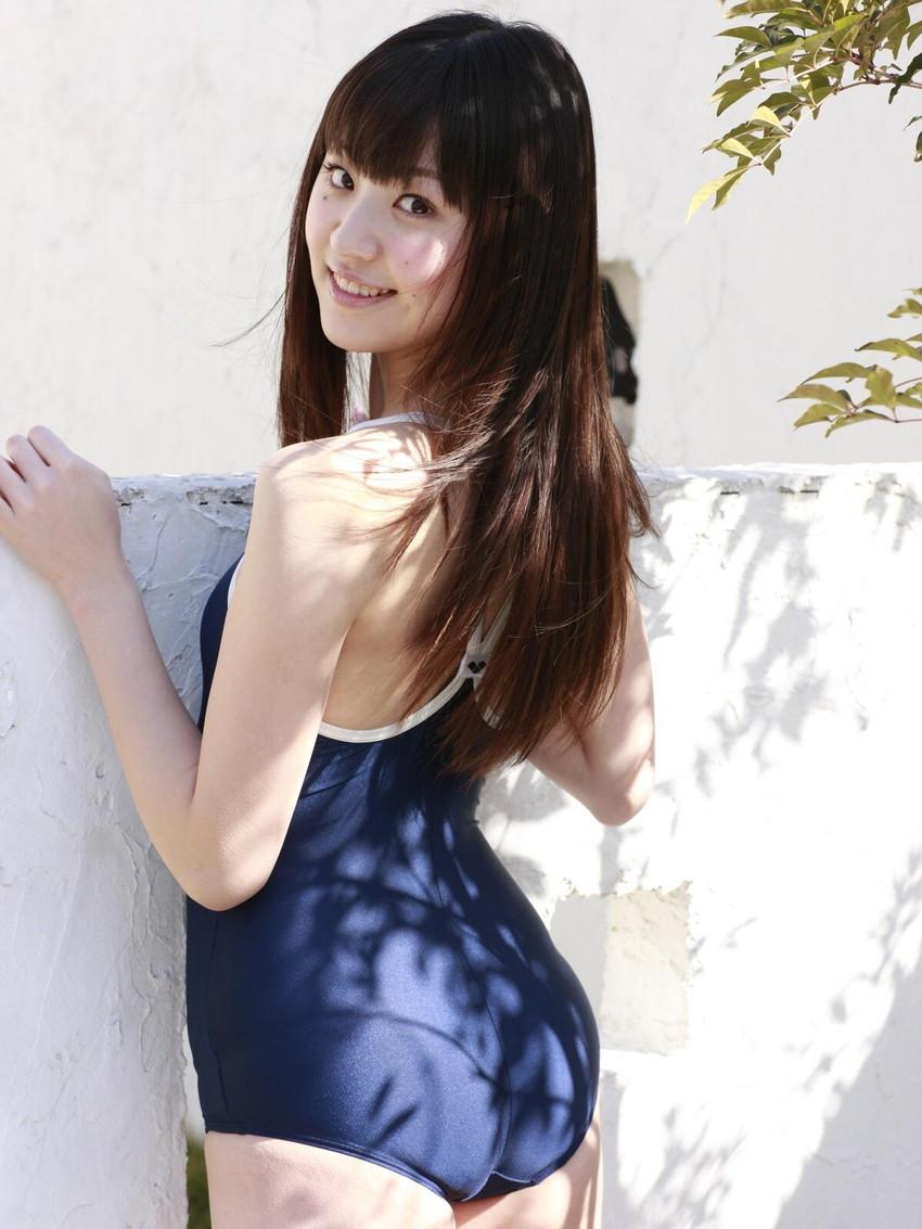 【スクール水着エロ画像】時期はずれでも見たい!スクール水着のマニアック女子! 70