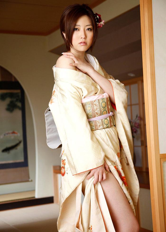 【和服エロ画像】日本の心、和服をテーマにしたエロ画像集めたったぜwwww 15