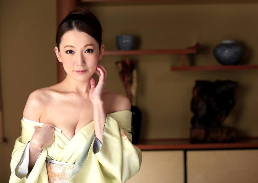 【和服エロ画像】日本の心、和服をテーマにしたエロ画像集めたったぜwwww 52