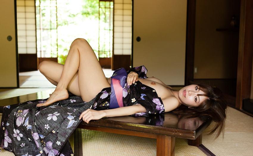 【和服エロ画像】日本の心、和服をテーマにしたエロ画像集めたったぜwwww 61