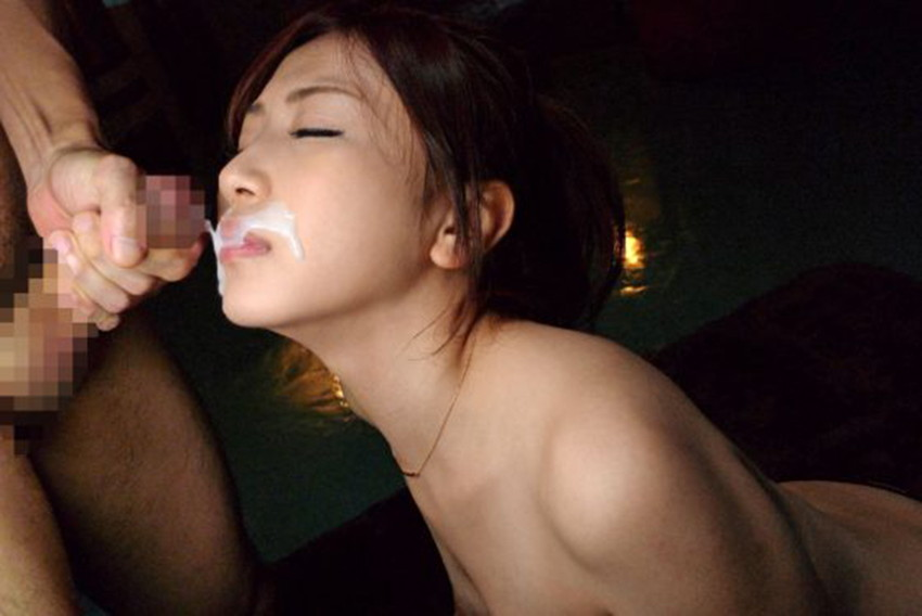 【顔射エロ画像】女の子の顔面がザーメンにまみれた卑猥な画像で抜く!? 56