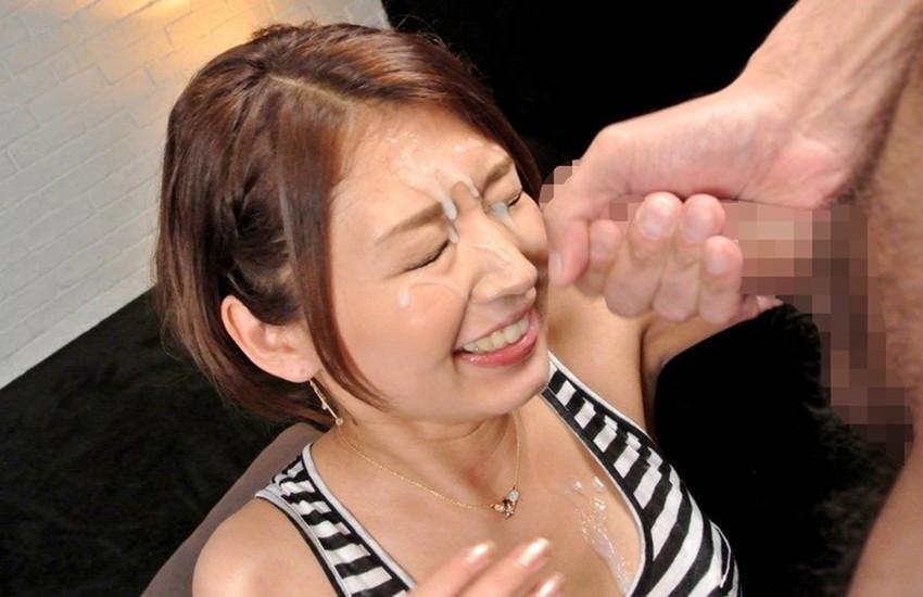 【顔射エロ画像】女の子の顔面がザーメンにまみれた卑猥な画像で抜く!? 62