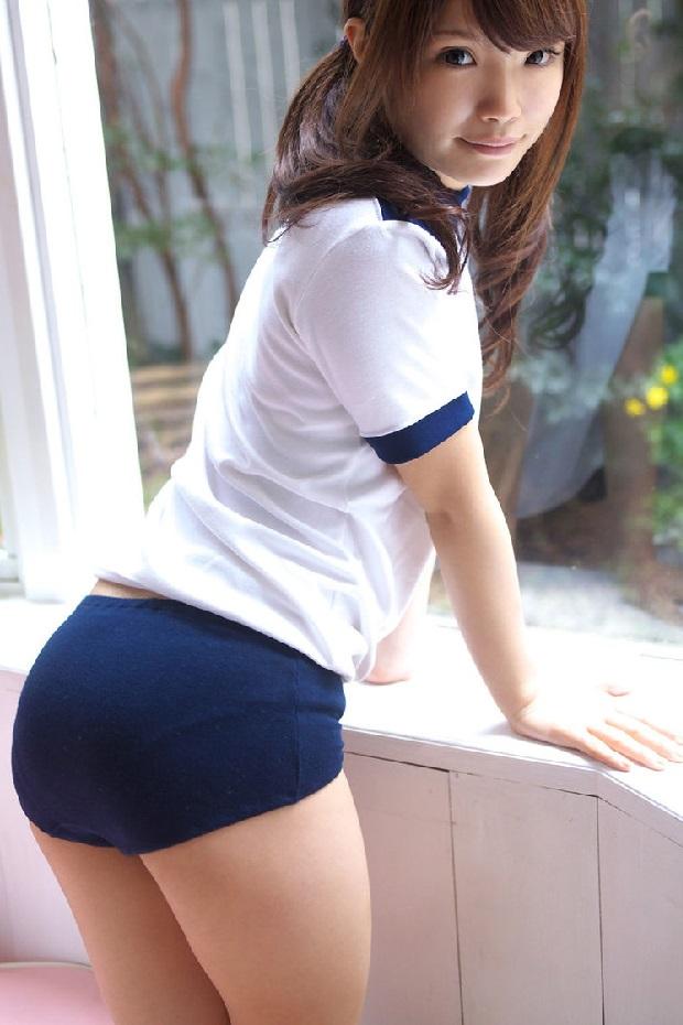 【体操服エロ画像】ワイ、学生時代の体育の時に女子のこんな格好に勃起してたなww 52