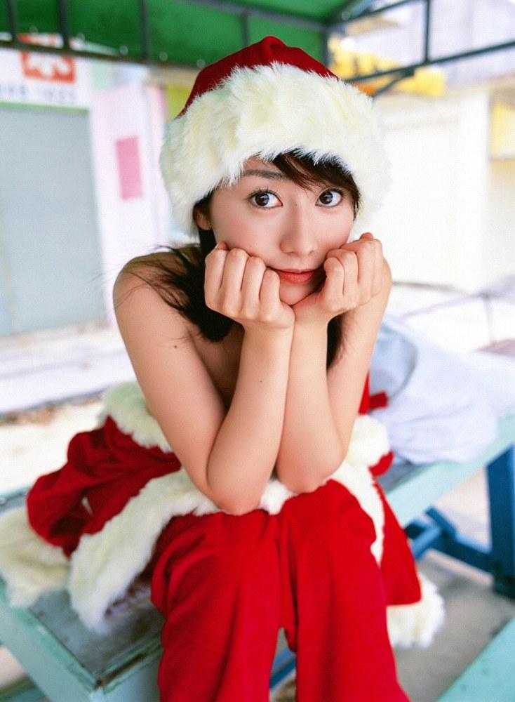 【サンタコスプレエロ画像】こんなエッチなサンタ!クリスマスイブに降りて来い! 22
