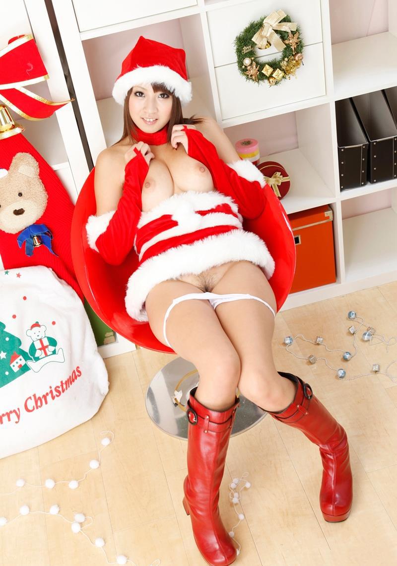 【サンタコスプレエロ画像】こんなエッチなサンタ!クリスマスイブに降りて来い! 55