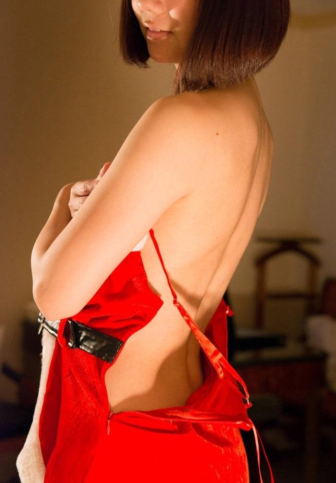 【サンタコスプレエロ画像】こんなエッチなサンタ!クリスマスイブに降りて来い! 81