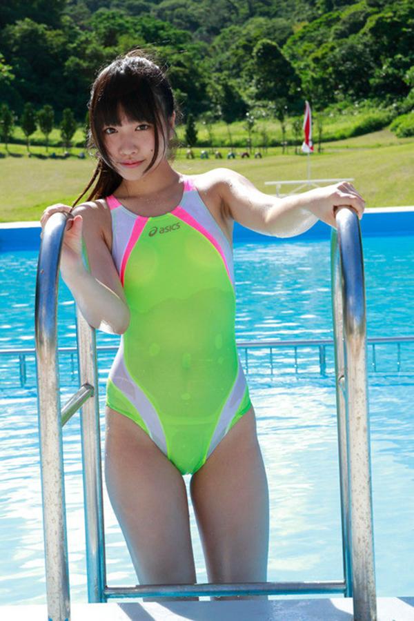 【競泳水着エロ画像】競泳水着って実はエロい!?これが競泳用かよッ! 05