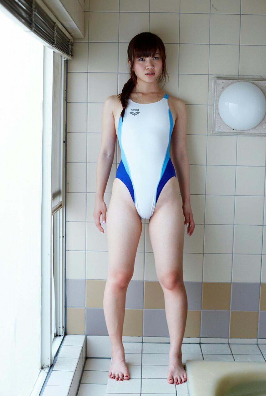 【競泳水着エロ画像】競泳水着って実はエロい!?これが競泳用かよッ! 07