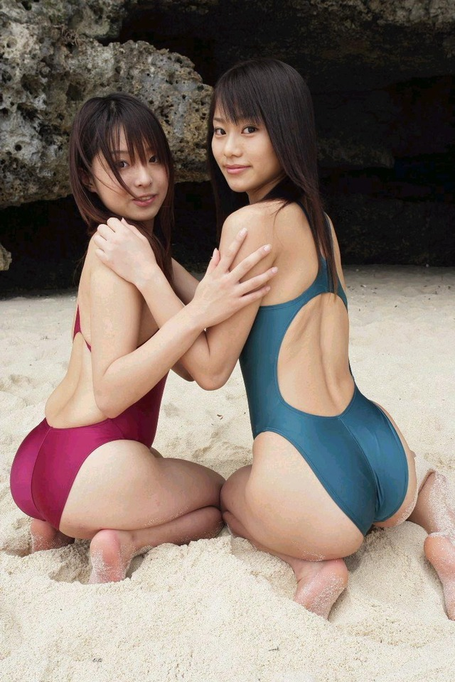 【競泳水着エロ画像】競泳水着って実はエロい!?これが競泳用かよッ! 44