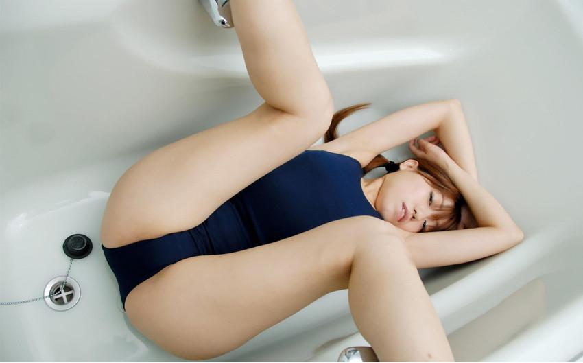 【スクール水着エロ画像】こんな時期だけどスクール水着女子の画像でも見て妄想したいw 43
