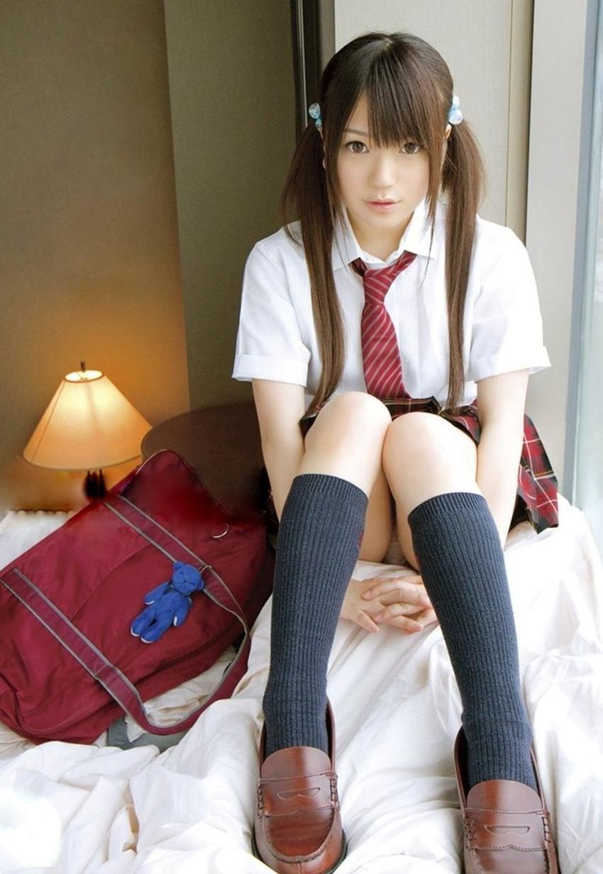 【JKコスプレエロ画像】ホンモノJKには劣るけどフレッシュな魅力の女の子達! 15