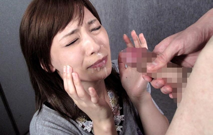 【顔射エロ画像】男の征服欲を掻き立てる!顔射された女の子達! 48