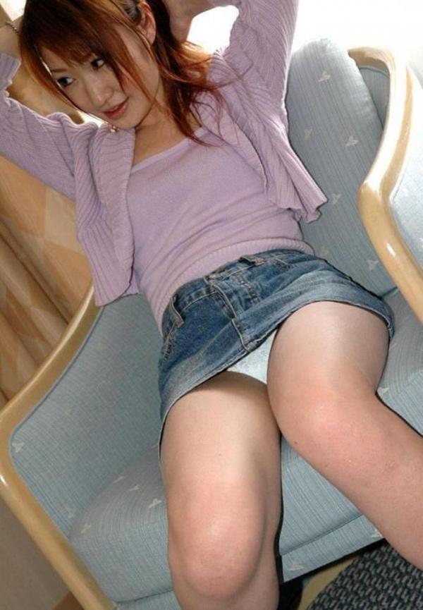 【パンチラエロ画像】美人美脚な女の子たちのスカートの中身、覗いたったぜw 16