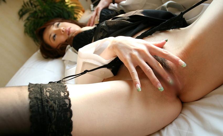 【指オナニーエロ画像】自分の指が一番良く知っている性感帯はココwwww 65