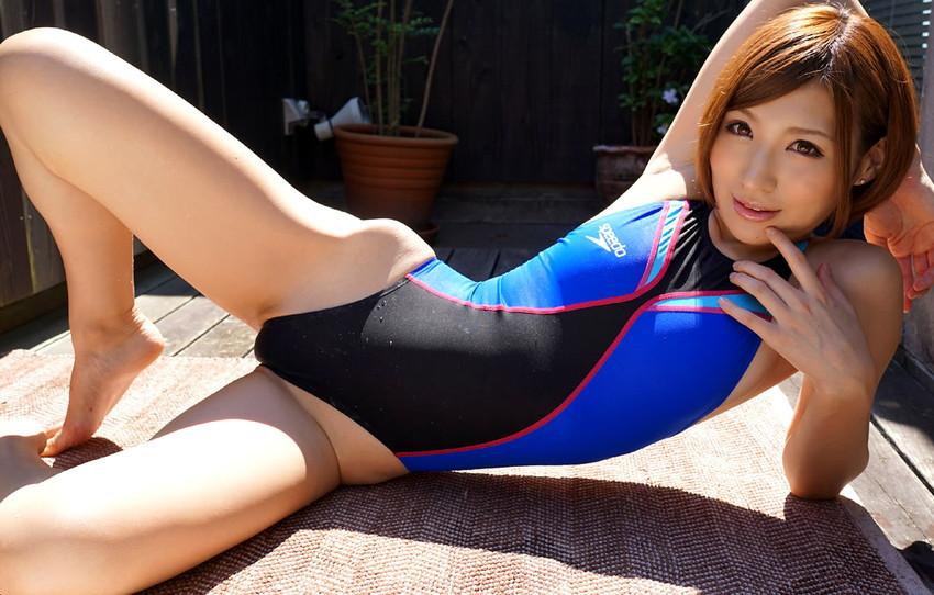 【競泳水着エロ画像】これが競泳用の水着!?ちょっとマジでエロいんだけど… 41