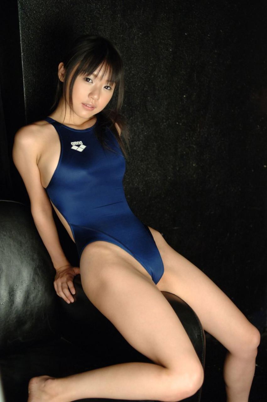 【競泳水着エロ画像】これが競泳用の水着!?ちょっとマジでエロいんだけど… 62