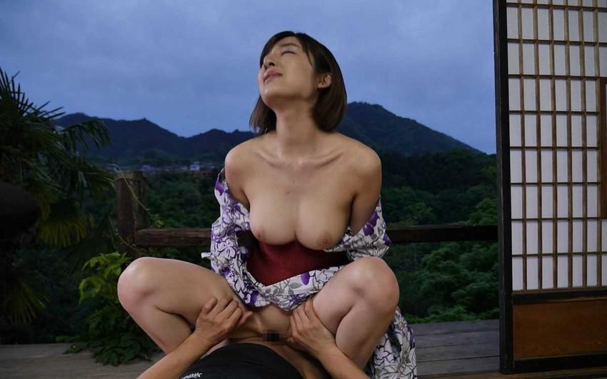 【和服エロ画像】和服姿の女の子たちのエロスがガチでエロくて草wwwww 46