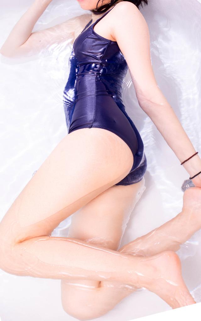 【スク水エロ画像】やっぱりコレが好き!マニアックだけどそこが良いwwww 68