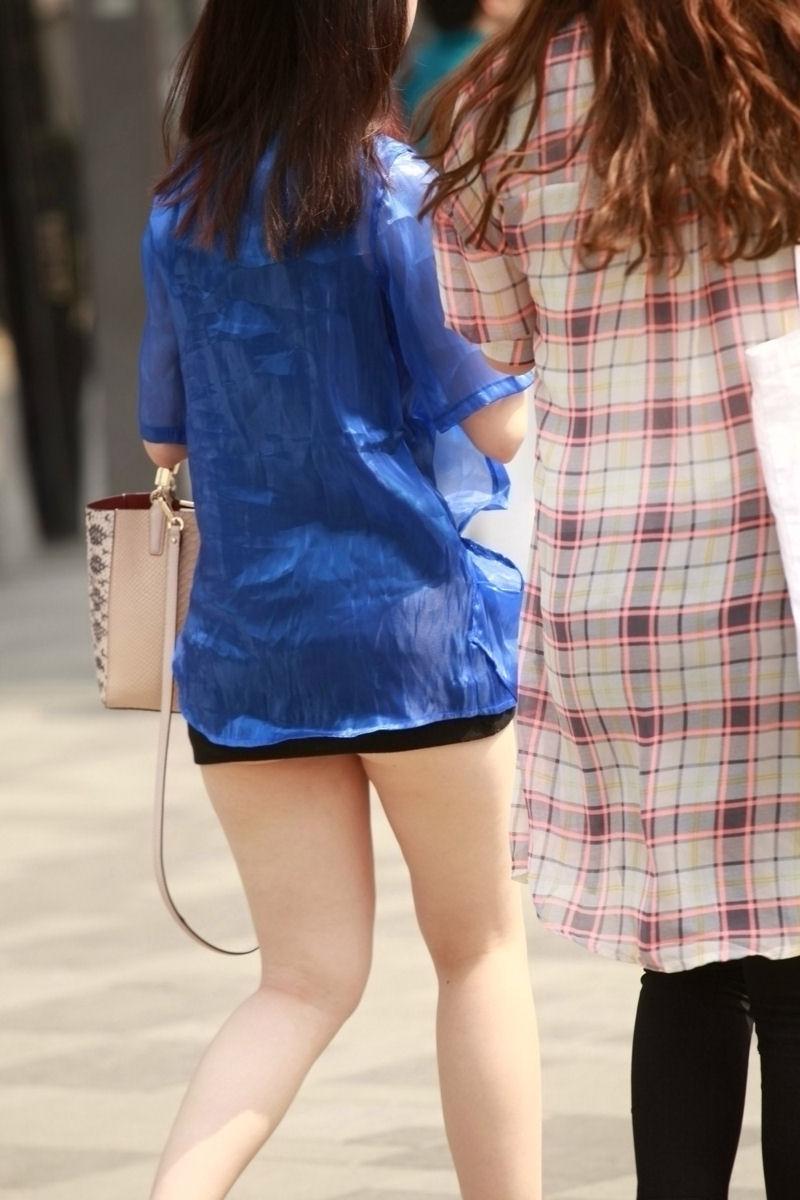 【ミニスカエロ画像】美脚、むき出しの太もも!春よ来い!美脚ミニスカエロ画像 46