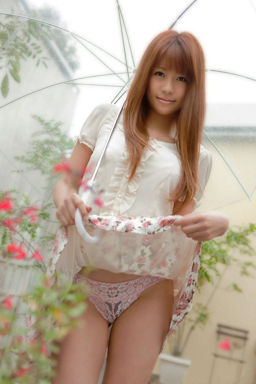 【セルフパンチラエロ画像】女の子からスカートを撒くってパンチラ披露wwww 78