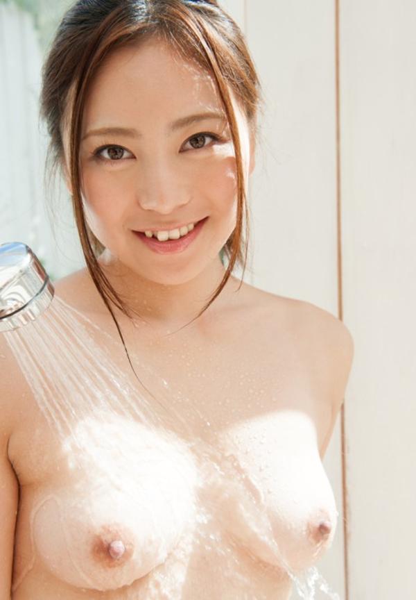 【入浴エロ画像】シャワーから滴る水になりたい!全裸入浴女子のエロ画像 44