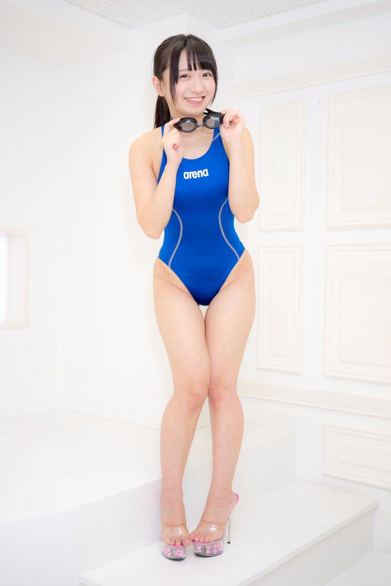 【競泳水着エロ画像】夏来い!水着の女の子たちが見たい!今回は競泳水着! 05