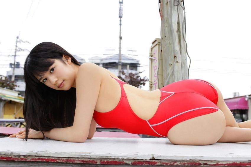 【競泳水着エロ画像】夏来い!水着の女の子たちが見たい!今回は競泳水着! 40