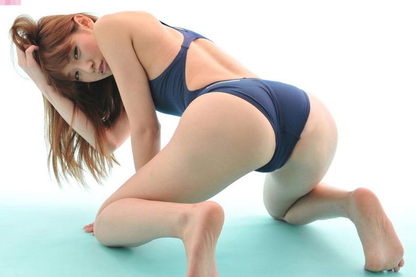 【競泳水着エロ画像】夏来い!水着の女の子たちが見たい!今回は競泳水着! 66