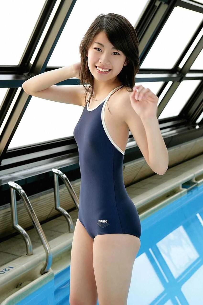 【スク水エロ画像】スクール水着姿の女の子の画像集めたら下半身が反応してしまったw 46