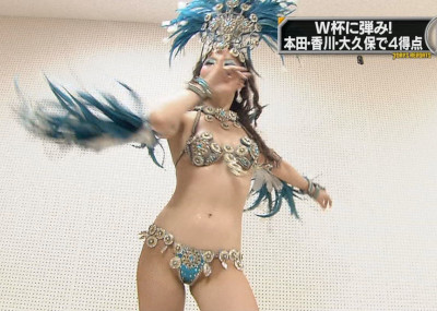 【※片マン注意※】日本人によるサンバカーニバルがほとんど裸wwwwwwwwwww(画像あり)