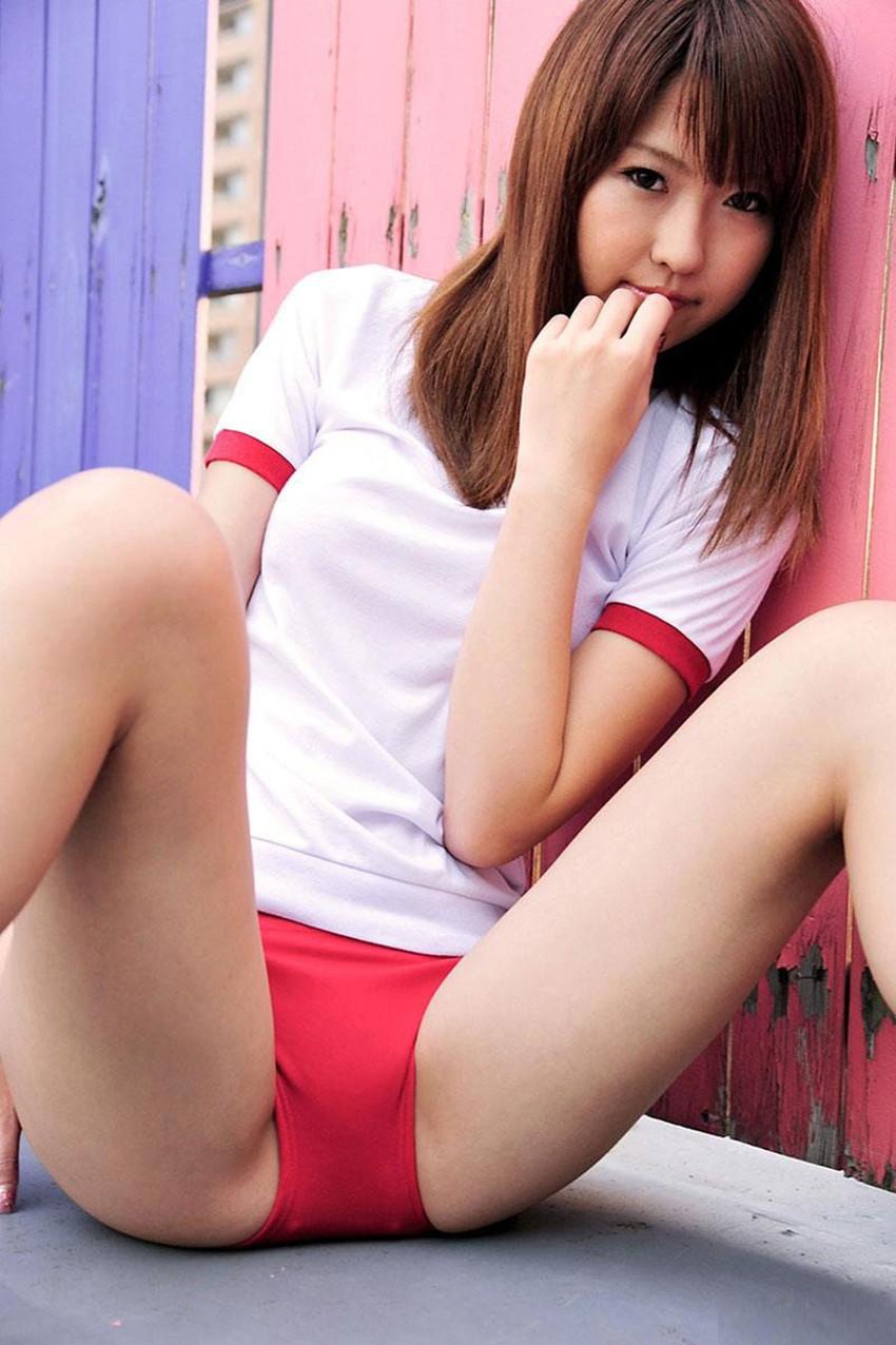 【体操服エロ画像】今の各学校の体操服って味気ないよな!?やっぱりコレだろ!? 80