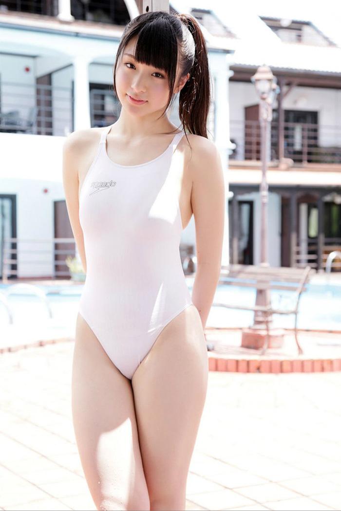 【競泳水着エロ画像】ヘタなビキニよりも抜ける!?意外にもエロい競泳水着 72