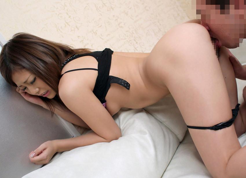 【クンニリングスエロ画像】女の子の股間をぺろぺろ舐めるクンニリングスエロ画像 46