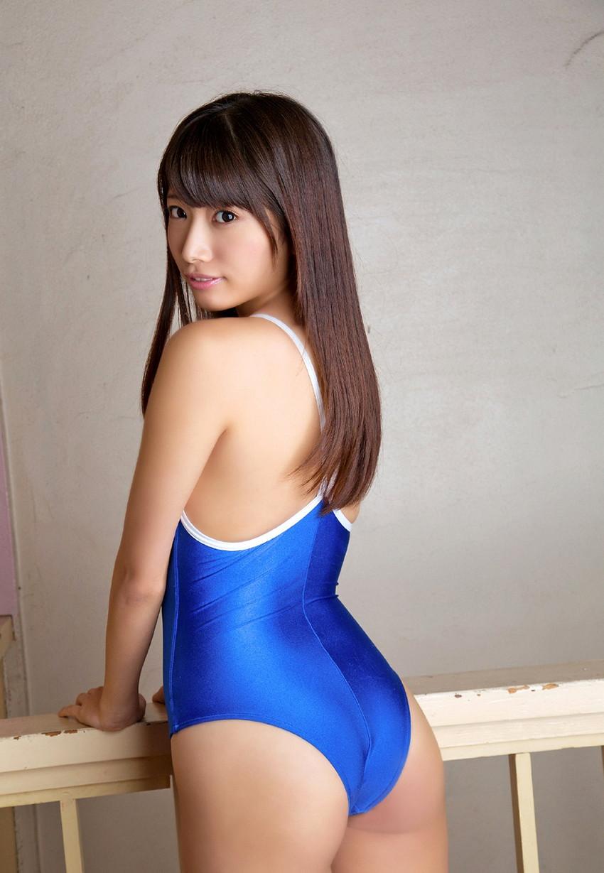 【スク水エロ画像】ビキニ水着もソソるけど、たまにはこんなマニアックな水着もイイ! 09