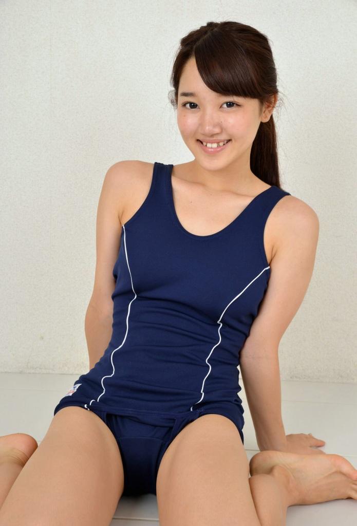【スク水エロ画像】ビキニ水着もソソるけど、たまにはこんなマニアックな水着もイイ! 28