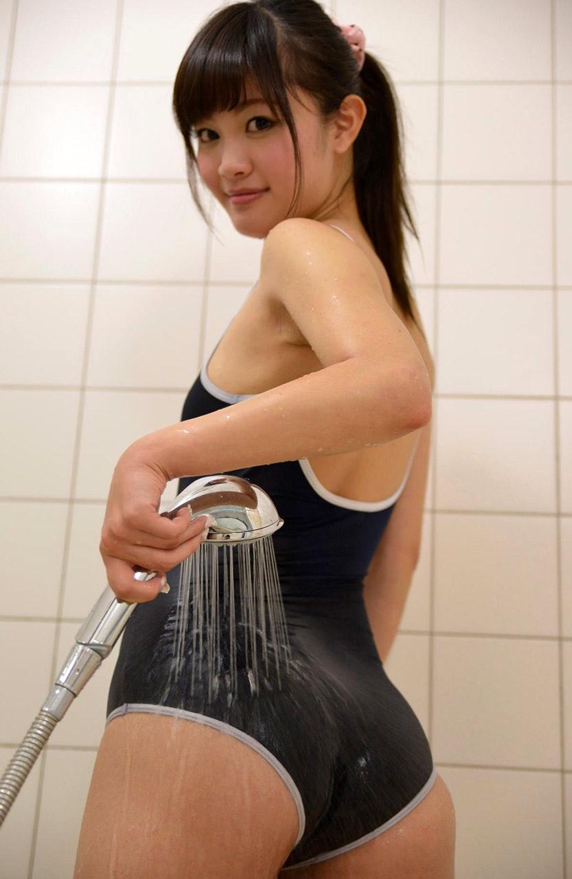 【スク水エロ画像】ビキニ水着もソソるけど、たまにはこんなマニアックな水着もイイ! 39