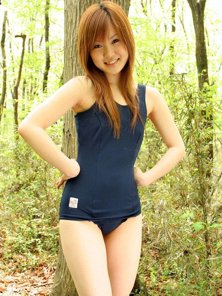 【スク水エロ画像】ビキニ水着もソソるけど、たまにはこんなマニアックな水着もイイ! 80