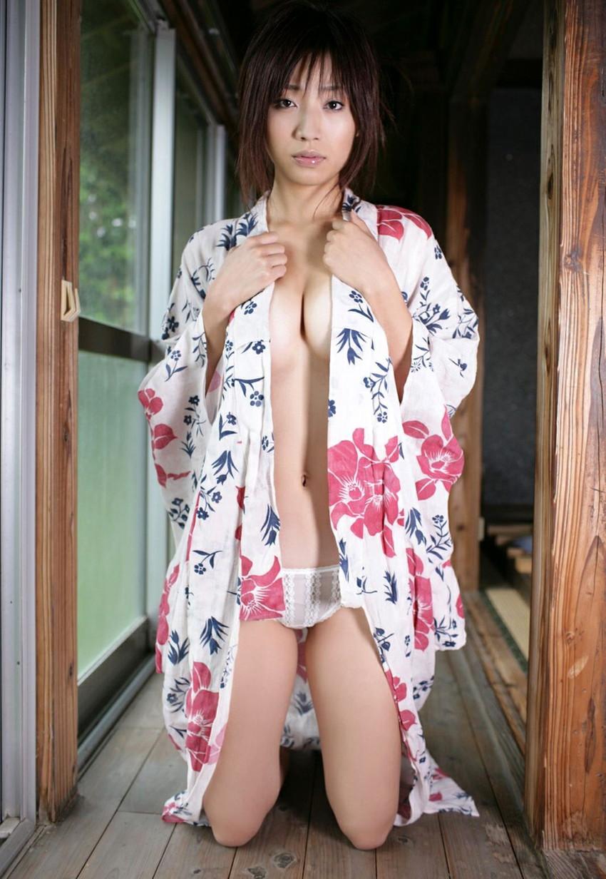 【和服エロ画像】和服姿って妙にソソるんだよな!和服のエロ画像集めたったwww 33