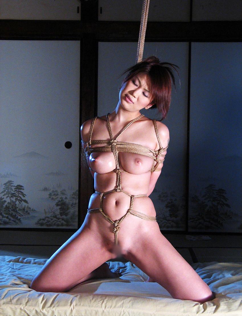 【緊縛エロ画像】緊縛された女の姿に男の本能が呼び覚まされる!?wwww 36