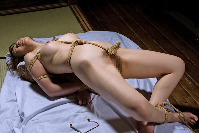 【緊縛エロ画像】緊縛された女の姿に男の本能が呼び覚まされる!?wwww 76