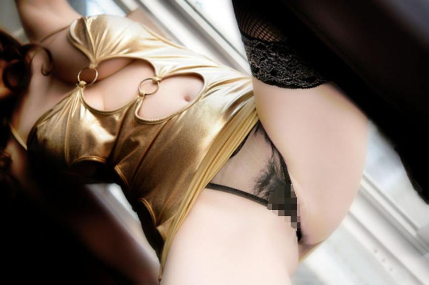 【透け下着エロ画像】これは下着の意味はないのでは?透けすぎちゃっと目のやり場に困る! 79