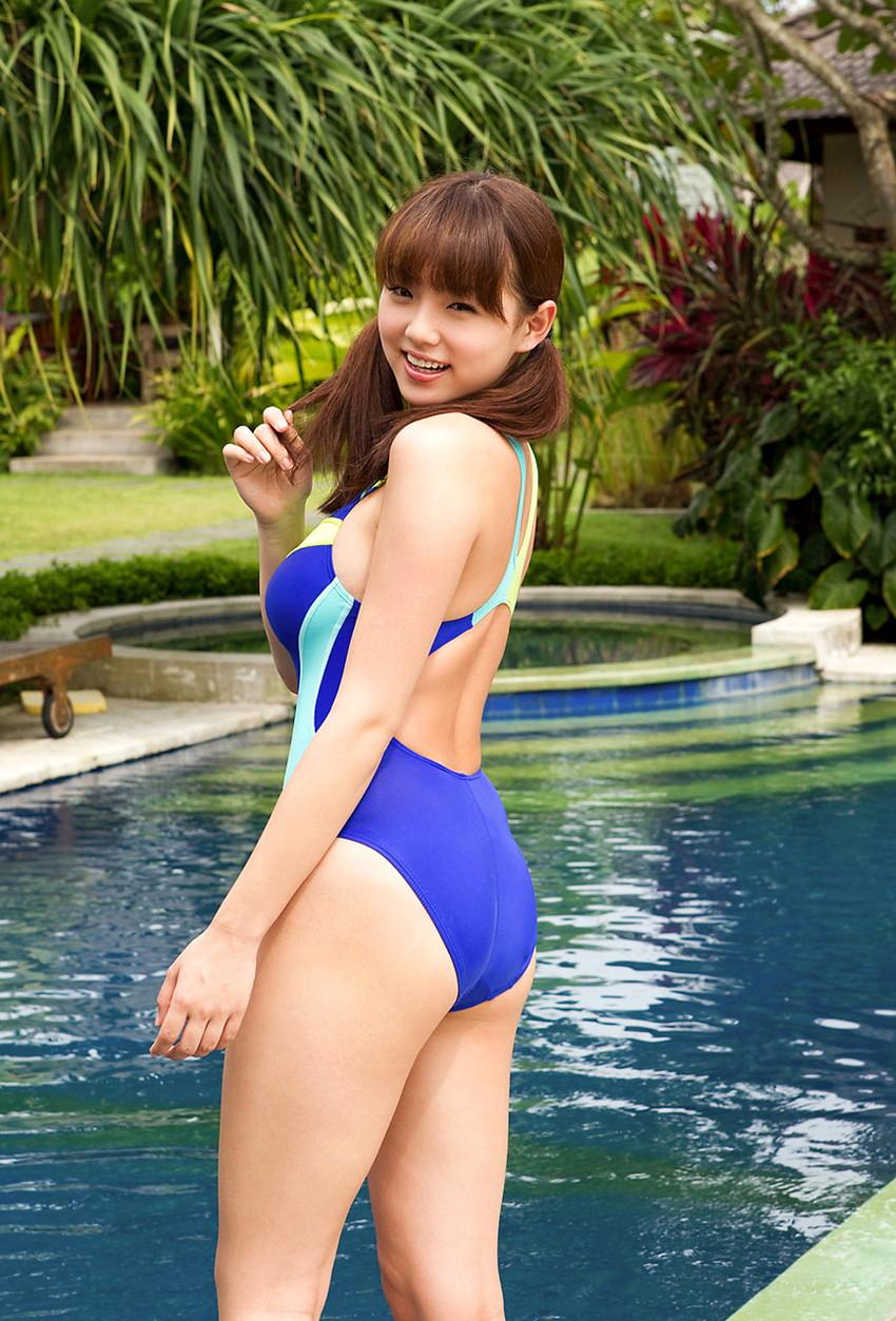 【競泳水着エロ画像】意外なほどエロい競泳水着の画像集めてみた!wwww 13