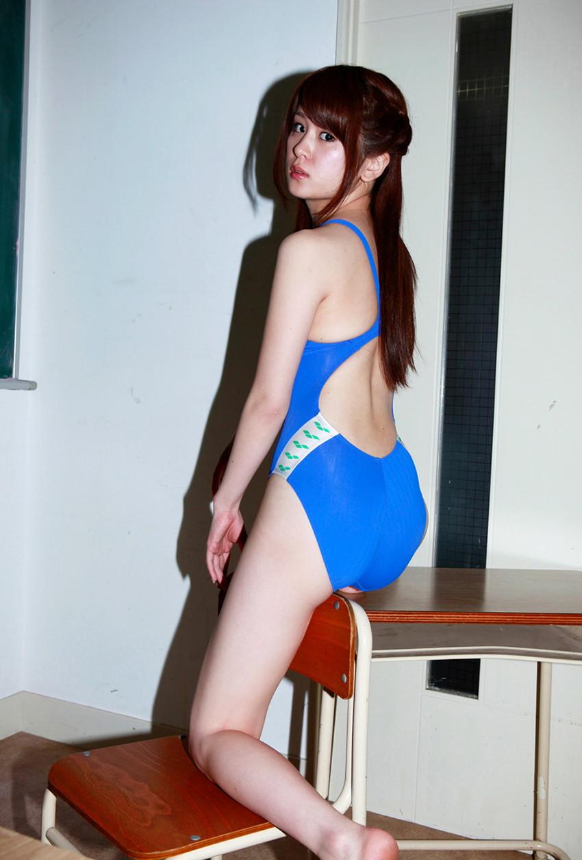 【競泳水着エロ画像】意外なほどエロい競泳水着の画像集めてみた!wwww 19