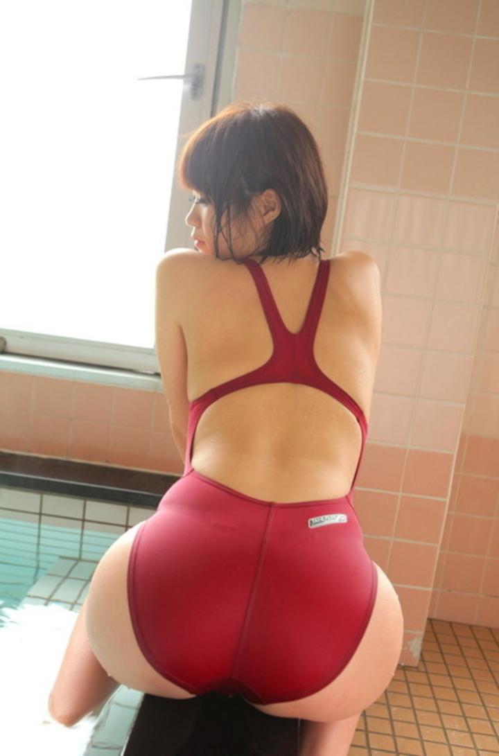 【競泳水着エロ画像】意外なほどエロい競泳水着の画像集めてみた!wwww 47