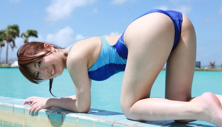 【競泳水着エロ画像】意外なほどエロい競泳水着の画像集めてみた!wwww 52