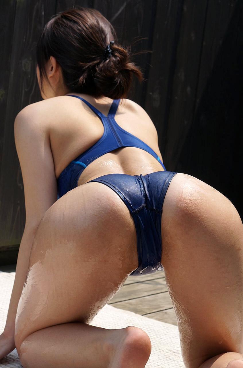【競泳水着エロ画像】意外なほどエロい競泳水着の画像集めてみた!wwww 82