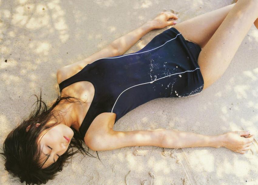 【スク水エロ画像】マニアックでも興奮してしまう!スクール水着美少女!? 32